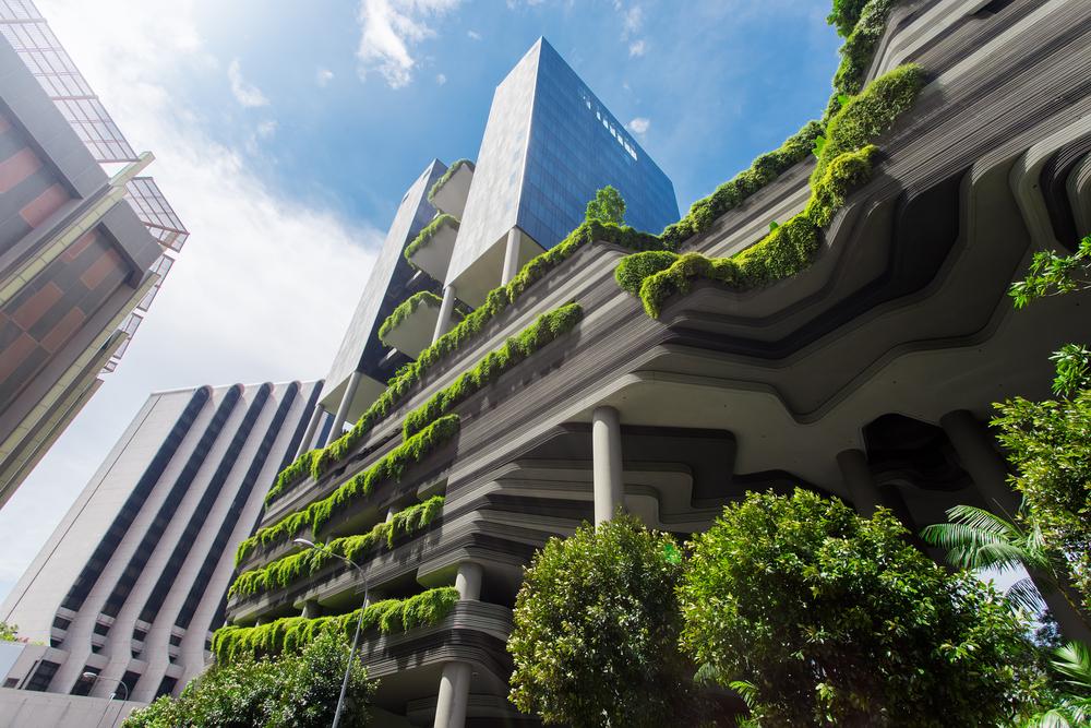 Las fachadas vegetales son un futuro que ya es presente.