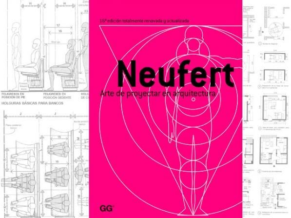 10 libros de arquitectura impresicindibles - Neufert