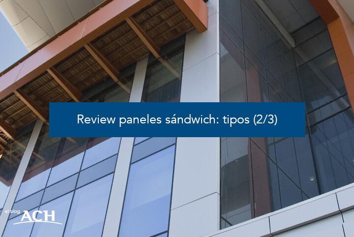 Tipos de paneles sándwich