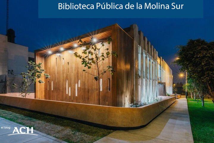 Biblioteca Pública de la Molina Sur en Perú