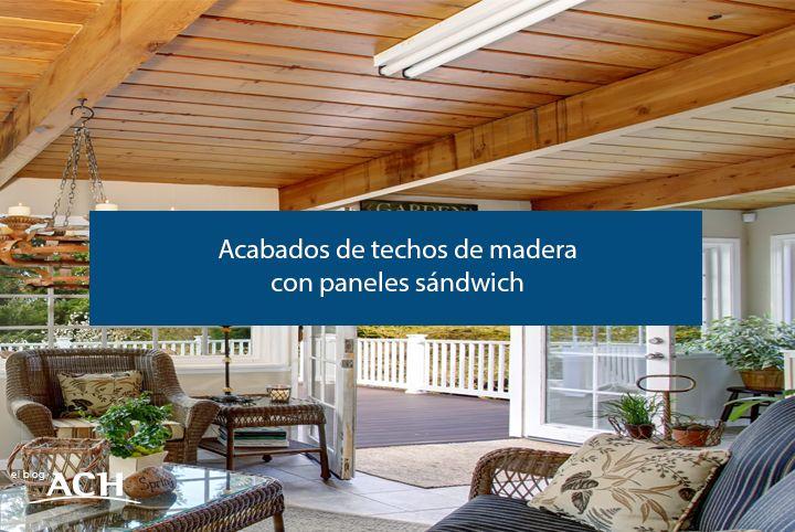 acabados de techos de madera