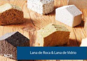 Lana de Roca y Lana de Vidrio